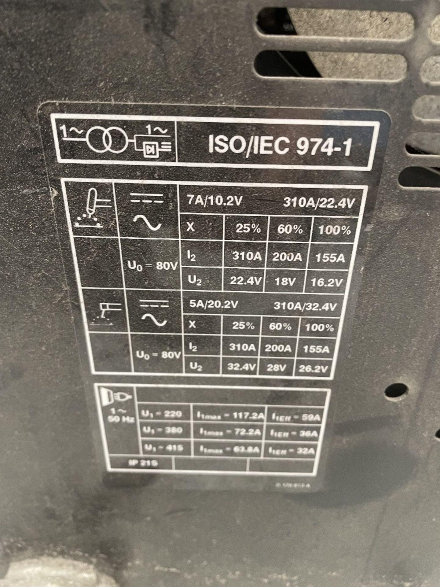 Miller Syncrowave 250 Tig Welder w/ TecArc XC1000 Water Cooler - Image 6 of 6