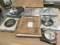 Quantity of Various Saw Blades | As Pictured