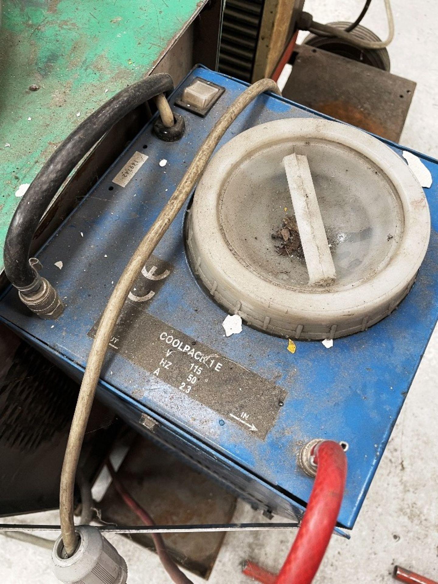 L-Tec Heliarc 250 Tig/Stick Welder w/ Miller Power Source & Water Cooler - Image 5 of 5