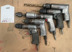 5 x Various Pneumatic Drills   As Pictured
