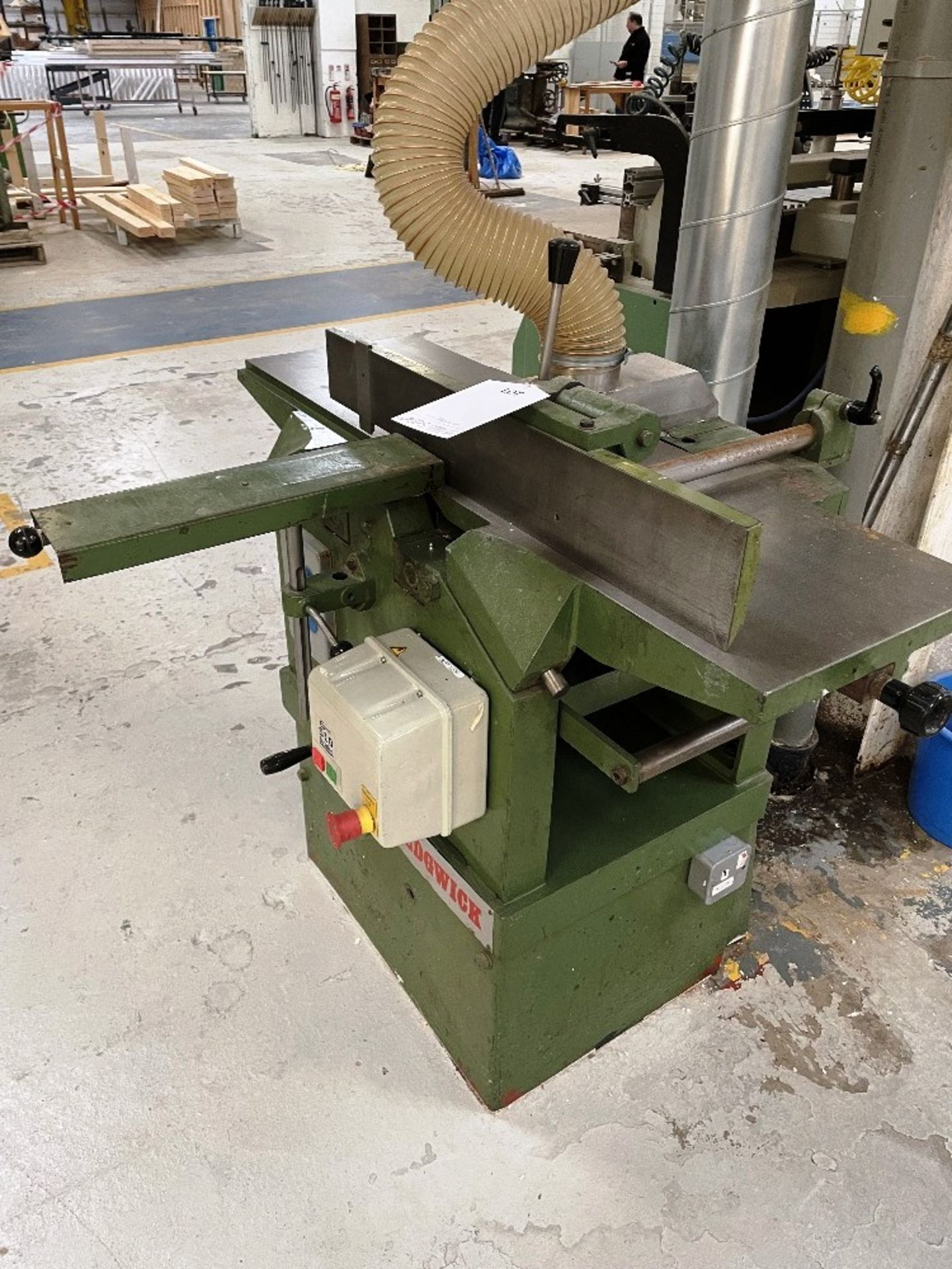 Sedgwick Planer Thicknesser   No Plate - Image 2 of 4
