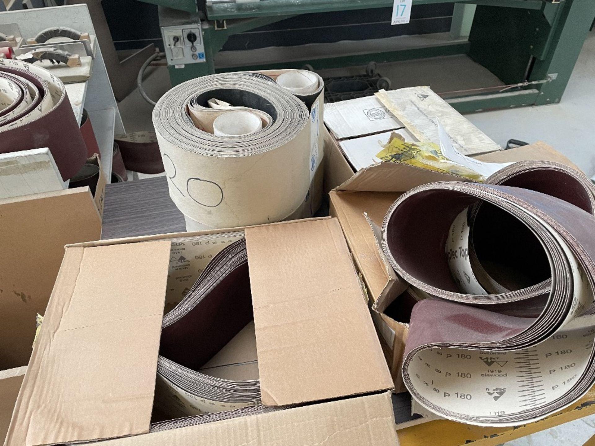 Felder FS 2200 Belt Sander w/ Spare Sanding Belts & Pads - Image 13 of 13