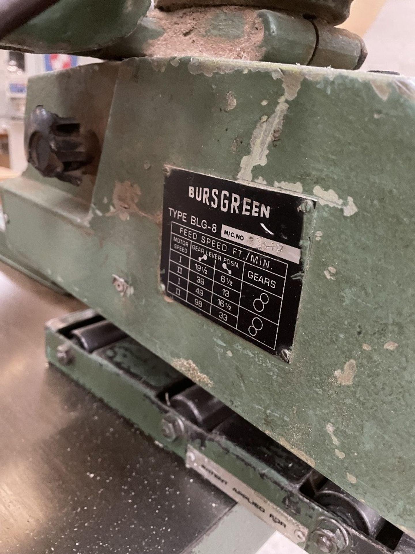 Wadkin Bursgreen Vertical Bandsaw w/ Power Feed - Image 8 of 9