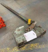Industrial Manual Bench Shear