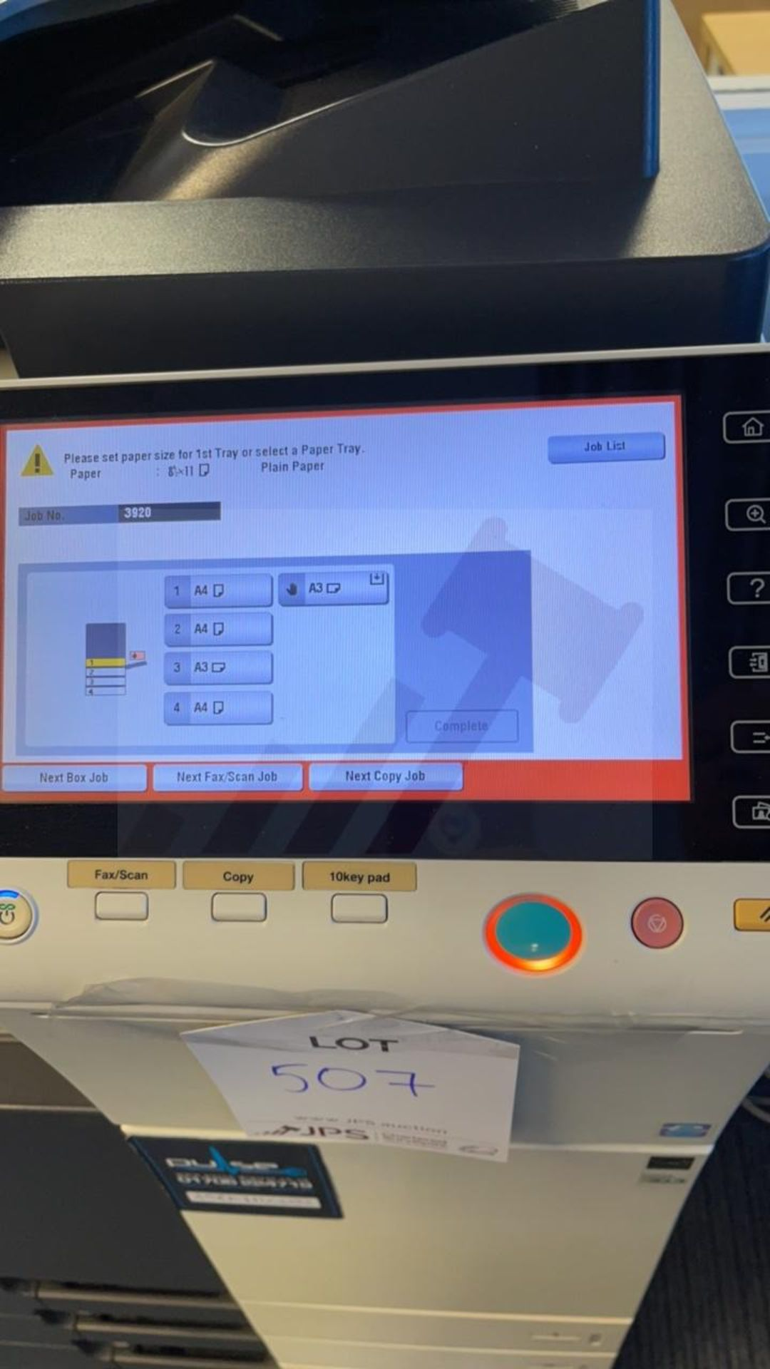 Konica Minolta Bizhub C364E A3 Multi-Functional Printer - Image 4 of 6