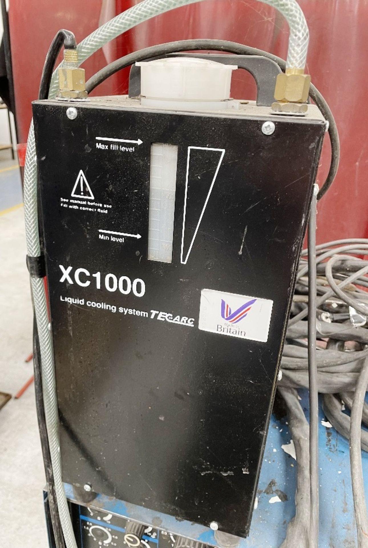 Miller Syncrowave 250 Tig Welder w/ TecArc XC1000 Water Cooler - Image 3 of 5