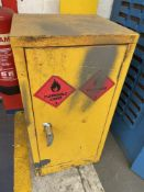 2 x Flammable Liquid Storage Cabinets w/ Contents