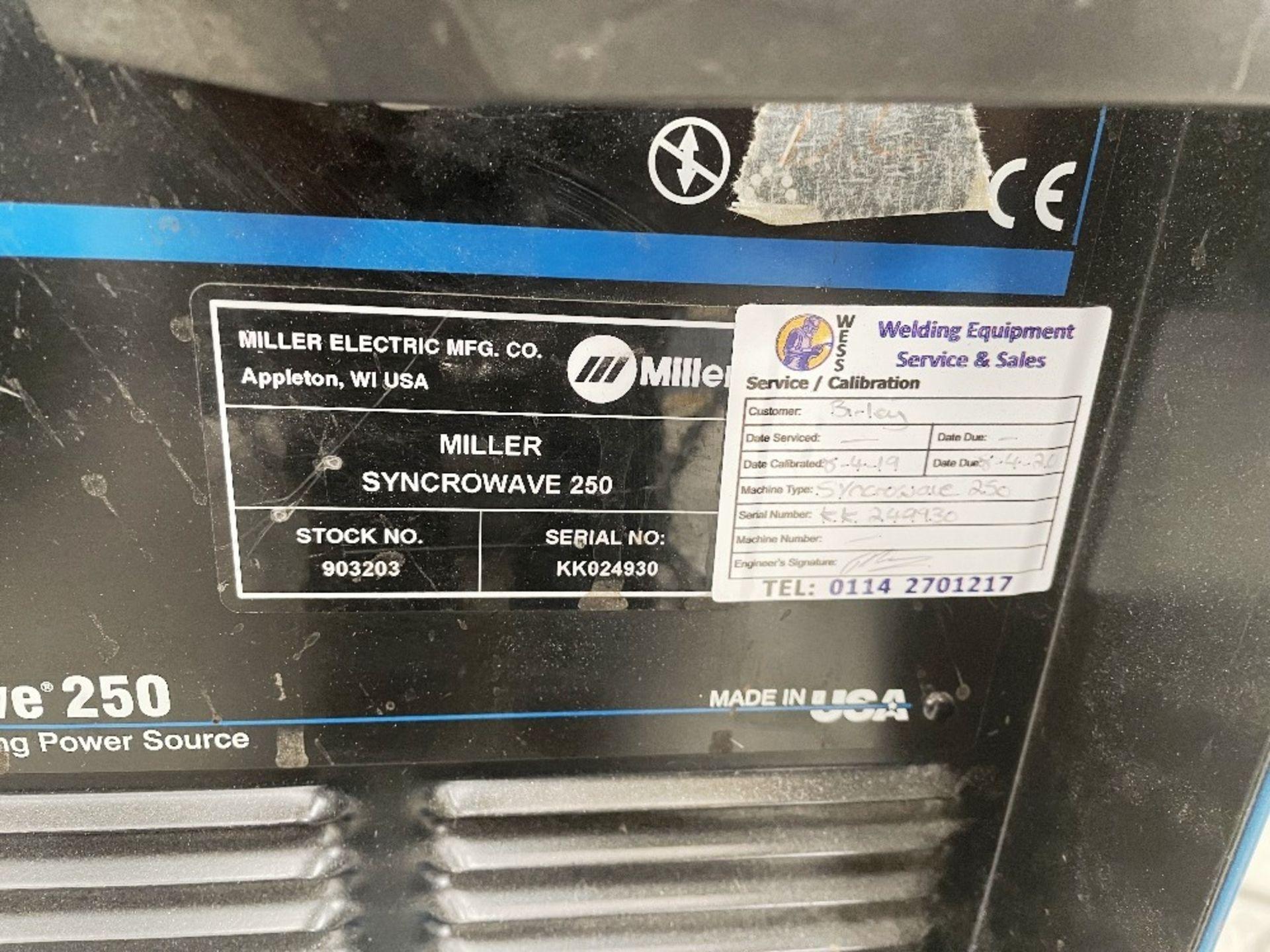 Miller Syncrowave 250 Tig Welder - Image 2 of 2