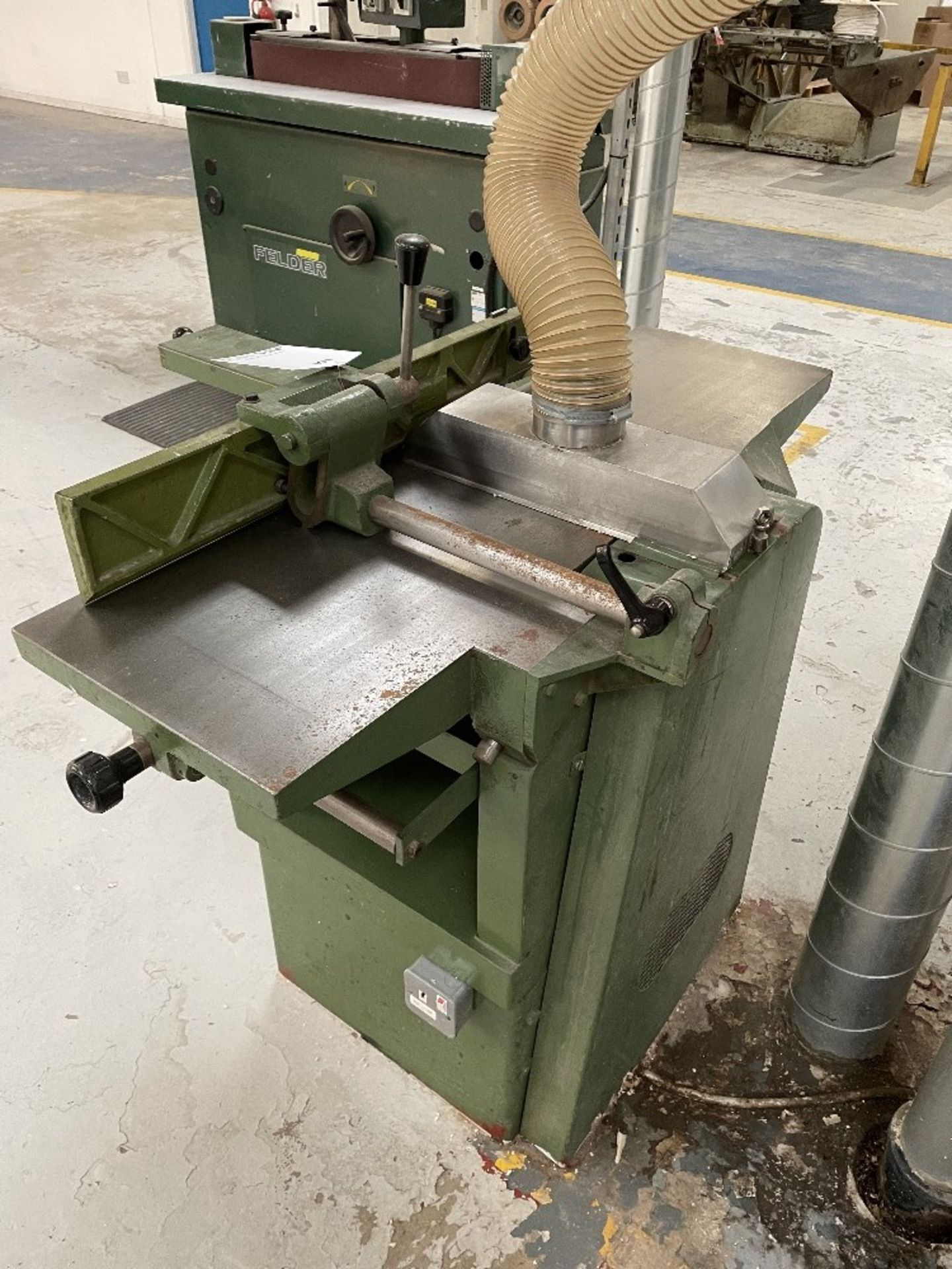 Sedgwick Planer Thicknesser   No Plate - Image 3 of 4