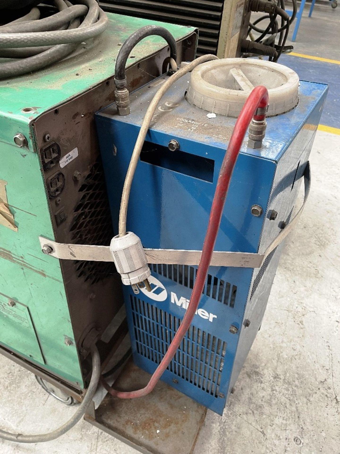 L-Tec Heliarc 250 Tig/Stick Welder w/ Miller Power Source & Water Cooler - Image 4 of 5