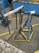 Quantity of Trestle Stands - As Pictured