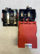 6 x Tofco ELSAB1/10A Double Pole 1 Fuse With Earth Block