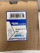 5 x METALMATE® - Hexagon Full Nut ZP M20 | Boxes Of 50
