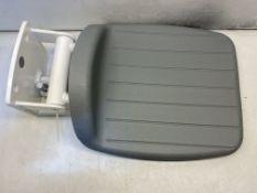 Pressalit R1600000-35 Armitage Shanks S6632XK Gray Folding Shower Seat