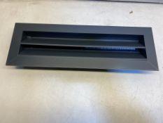 11 x Grey Vent Covers | 45cm x 14.5cm