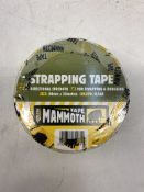 21 x Everbuild Mammoth Strapping Tape