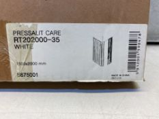 7 x Armitage Shanks Shower Pressalit Care Curtains RT202000-35 1500 X 2000 MM White