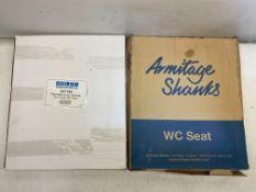 2 x Various WC Seats