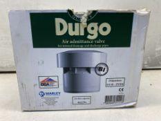"4 x DURGO FITS 4"" PIPE AIR ADMITTANCE VALVES"