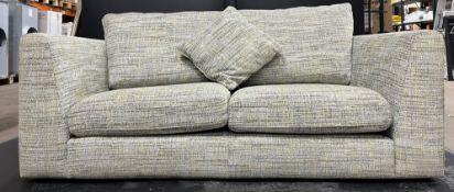 Ex Display 2 Seat Fabric Sofa