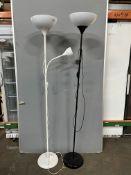 2 x Living Room Standing Lamps