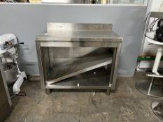 Stainless Steel Prep Table W/ Under Shelf