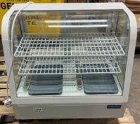 Polar CC666-02 Counter Top Display Fridge