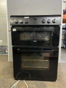 Bush BDBL60ELBX Double Oven Electric Cooker