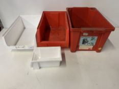 27 x Various Sized Tote Bins