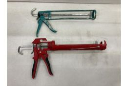 2 x Various Sealant Guns As Pictured