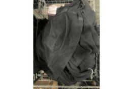 Length of Stretch Fabric   Black