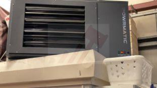 Powermatic LNVx 50 Warm air suspended gas unit heater