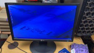 "LQ Flatron E2211 22"" LED monitor"