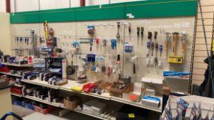 4 Bays adjustable retail racks