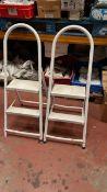 2 x 2 rise step stools