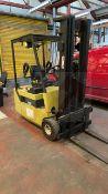 Clarke CTM16 1600 kg Electric fork lift truck with side shift, 3ph charger