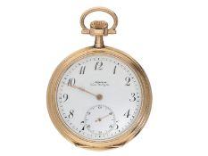 """Taschenuhr: qualitätsvolle Schweizer """"Alpina Union Horlogère"""" Herrenuhr, ca. 1900Ca."""