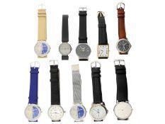 Armbanduhr: Konvolut diverse vintage Armbanduhren/Designeruhren und weitere Uhren1. 3