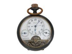 Taschenuhr: sehr seltene Hebdomas 8-Tage-Taschenuhr mit Kalender, gefertigt für Bennett, New Yo