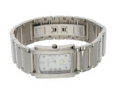 """Armbanduhr: luxuriöse Damenuhr, Chronometer Sternwarte Wempe/Glashütte """"Manchette"""" von 2012, n"""
