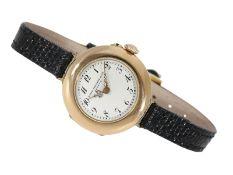 "Armbanduhr: ganz frühe Patek Philippe Armbanduhr Typ ""Offizier"" 27mm, ca. 1910Ca. Ø2"