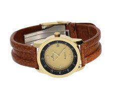 Armbanduhr: vintage Armbanduhr mit Originalbox, Baume & Mercier Formula SCa. Ø33,5mm,