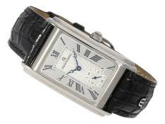 """Armbanduhr: elegante und seltene limitierte vintage Stahluhr, Maurice Lacroix """"Masterpiece FHF 2"""