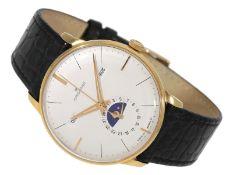 Armbanduhr: große astronomische, automatische neuwertige Herrenuhr, Junghans Meister Kalender R