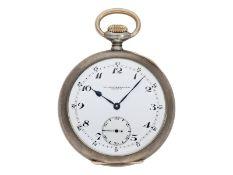 Taschenuhr: exquisite Genfer Schuluhr, Ecole D' Horlogerie Geneve No.717, Ankerchronometer, um 1