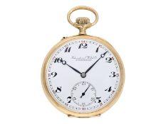 Pocket watch: gold man's pocket watch by IWC Schaffhausen, ca. 1922