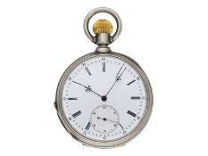 Taschenuhr: exquisites Chronometer, möglicherweise Schuluhr, signiert Duval, nummeriert 85565 u
