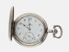 Taschenuhr: Glashütter Präzisionsuhr, Deutsche Präzisions-Uhrenfabrik Glashütte No. 201491, um 1920