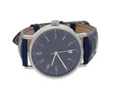 Armbanduhr: große moderne Designeruhr, Genesis 'Seminaruhr', ungetragen
