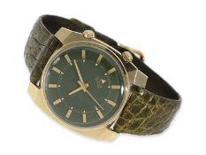 Armbanduhr: äußerst seltene Le Coultre Memovox mit Spezialgehäuse und Spezialzifferblatt, nahezu